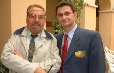 Sinesio Darnell y Pedro Amorós