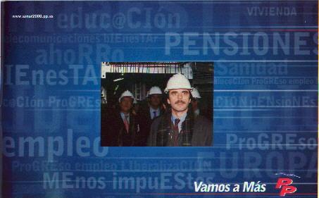 Imagen de la campaña del P.P.